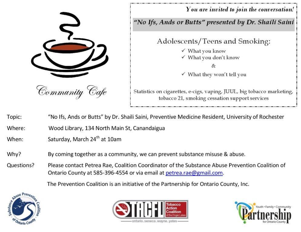 Community Cafe Invite